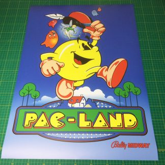 Pac-Land poster