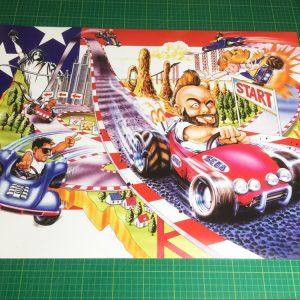 Power Drift Poster