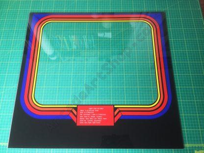 Euro Robotron plexiglass bezel