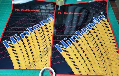 nintendo versus unisystem side art pair