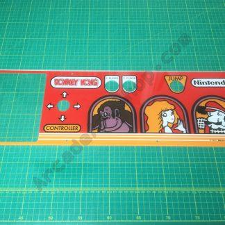 Donkey Kong plexi control panel