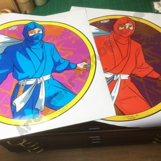 Ninja Warriors side art pair