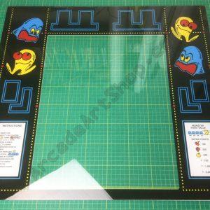Pacman perspex bezel