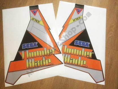 Thunderblade cabaret side art pair