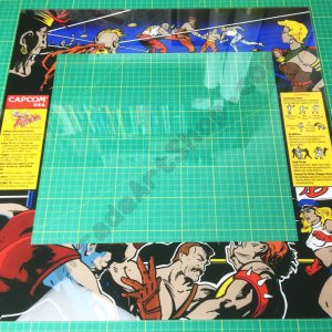 Final Fight perspex bezel