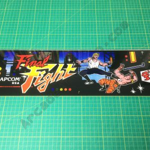 Final Fight perspex marquee