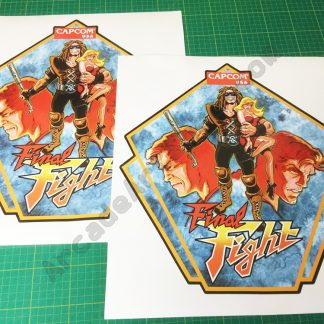 Final Fight side art pair