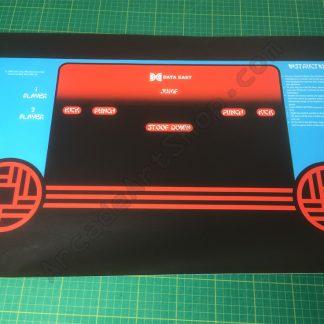Kung-Fu Master control panel overlay cpo