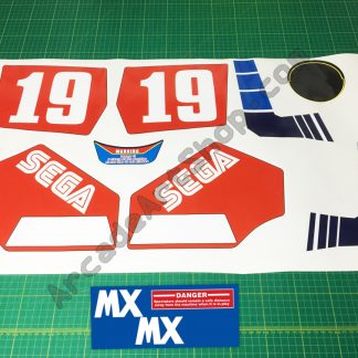 Enduro Racer 11pc sticker set