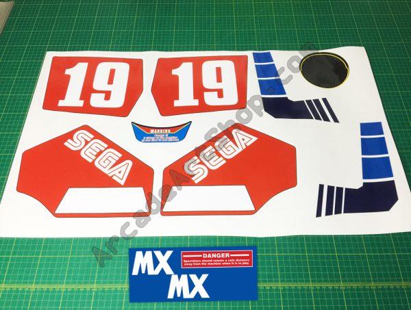 Enduro Racer 11pc sticker set