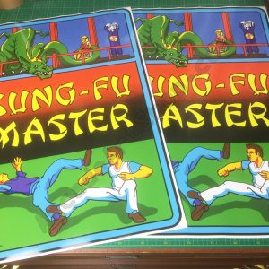 Kung-Fu Master side art pair