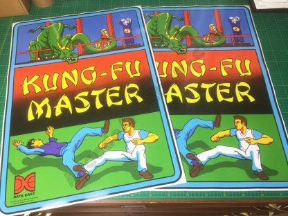 Kung-Fu Master side art pair