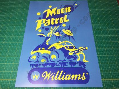 Moon Patrol Poster