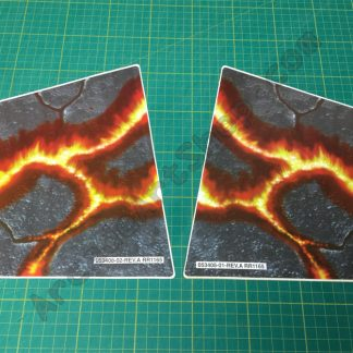 Primal Rage atari nos control panel side decals