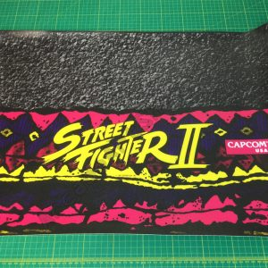 Street Fighter 2 control panel overlay CPO