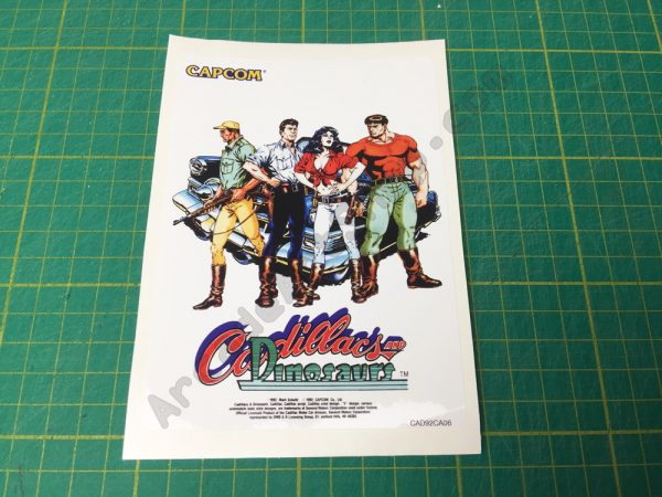 Cadillacs and Dinosaurs label