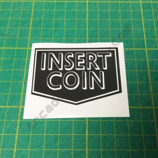 Insert Coin decal
