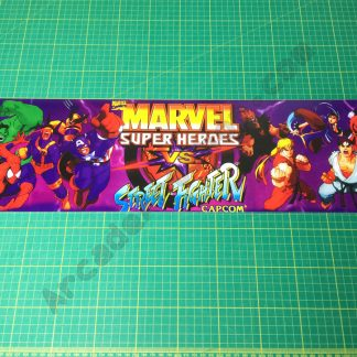 Marvel Super Heroes Vs. Street Fighter marquee