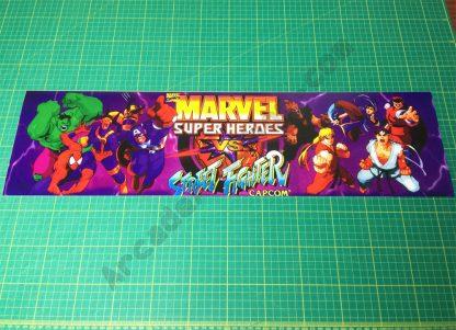 Marvel Super Heroes Vs. Street Fighter marquee