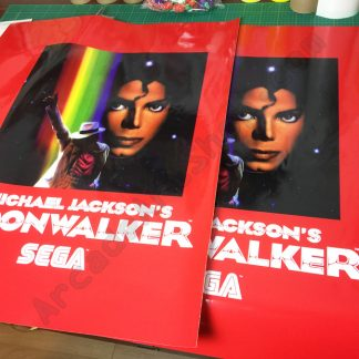 Michael Jacksons Moonwalker side art pair Euro/UK