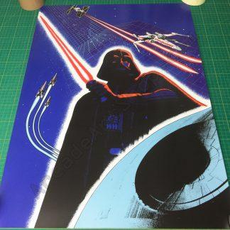 Star Wars cockpit poster