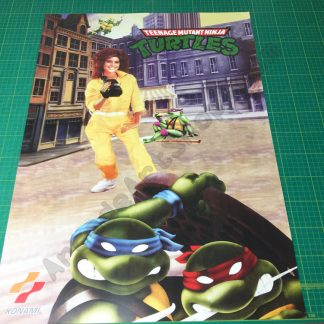 TMNT large arcade poster