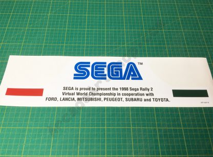 Sega Rally 2 topper centre decal SRT-0207-B