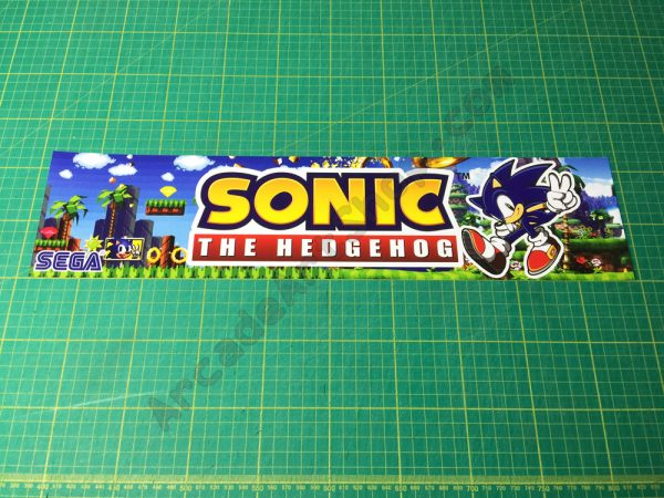 Sonic The Hedgehog marquee