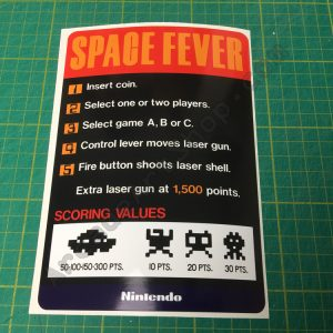 Space Fever cocktail decal