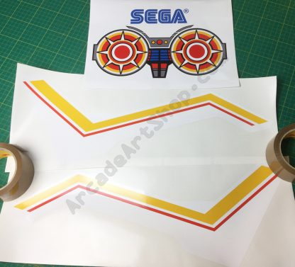 Space Harrier seat art set