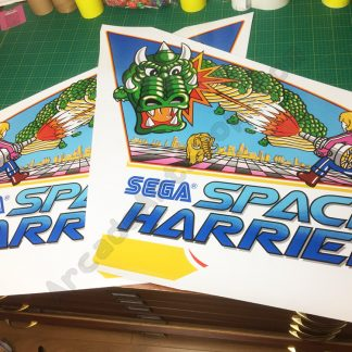 Space Harrier side art pair