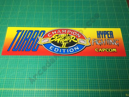 Street Fighter 2 Turbo Hyper Fighting marquee