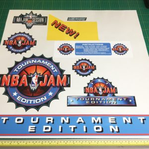 NBA Jam Tournament Edition sticker set