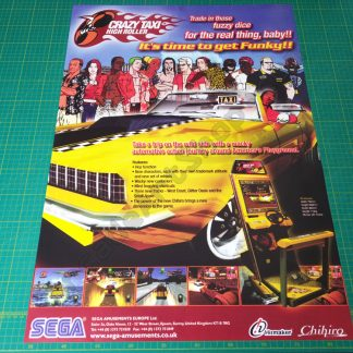 crazy taxi high roller poster