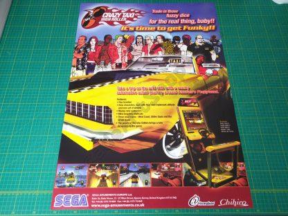crazy taxi high roller poster