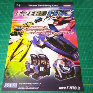 F-Zero AX poster