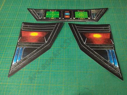 star wars bezel decal set upright cockpit