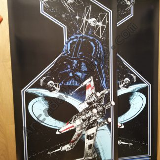 Atari Star Wars upright side art
