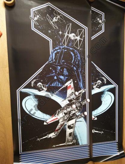 Atari Star Wars upright side art