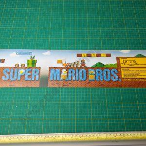 NOS Super Mario Bros marquee