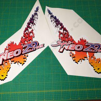 Super Neo 29 Type 2 side art pair