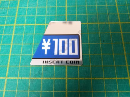 New Net City NNC 100 Yen foil decal