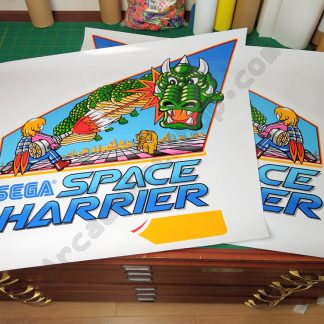 Space Harrier DLX Deluxe side art pair