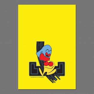 Pac-Man kickplate art