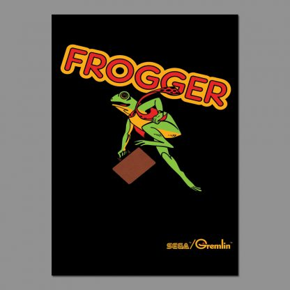 Frogger poster