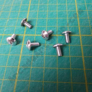M4x8 chrome screw