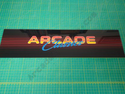 Arcade Classics 80s neon multigame marquee