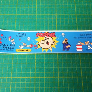 popeye instruction sticker
