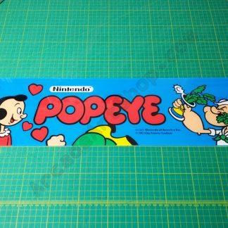 Popeye perspex marquee