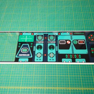 Radarscope control panel plexi
